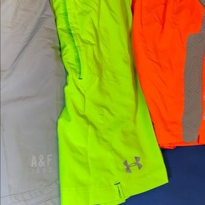 Under Armour Shorts - 3 running shorts: 2 underarmour & 1 AF
